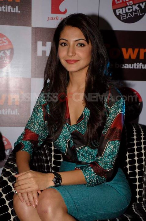Anushka Sharma1 - Anushka Sharma Promote Ladies vs Ricky Bahl