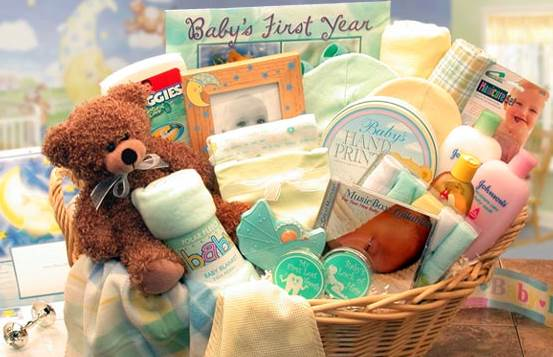 Baby Gift Basket Themes : Articles baby gift basket ideas