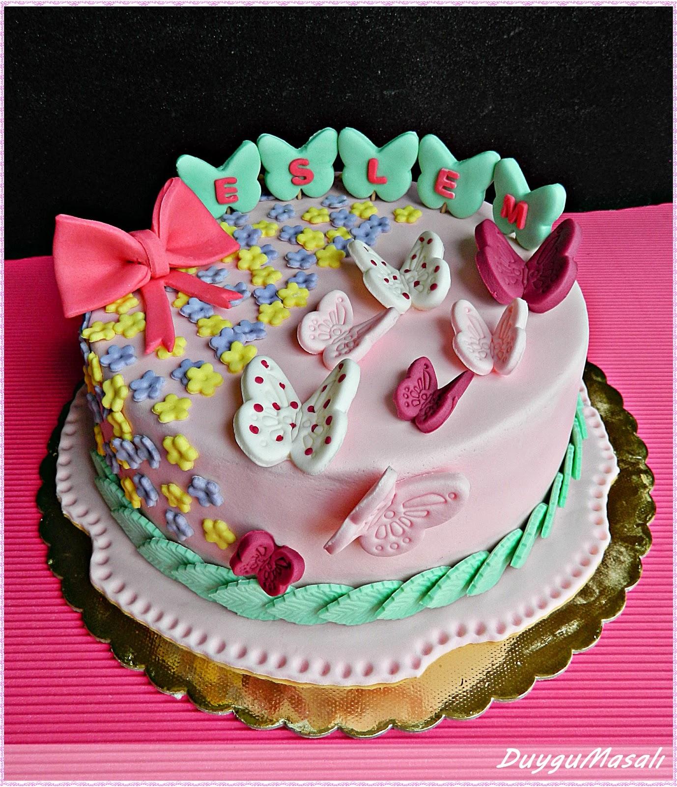 eslemin doğum günü pastası