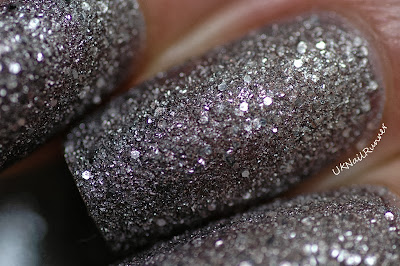 GOSH Frosted Silver and Frosted Purple