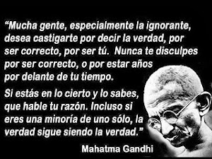 El gran maestro Gandhi