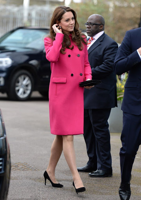 Kate Middleton visited the Stephen Lawrence Centre