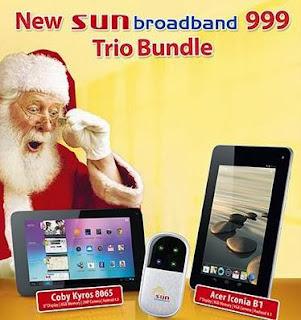 Sun Broadband Pocket WiFi
