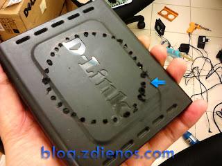 Memperbaiki Modem D-Link DSL-520B yang Rusak