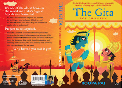 Books: The Gita for Children by Roopa Pai (Age: 9+)