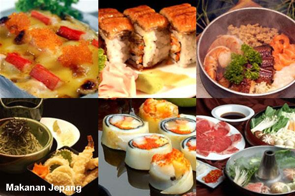 Daftar Makanan Jepang Paling Komplit