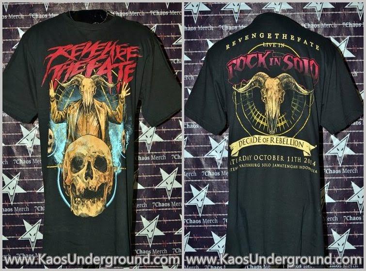 RTF indonesian deathcore bandung SevenChaos Merch Rock In Solo Beholder Anggi RTF KaosUnderground.com