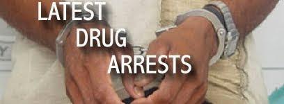 Latest Drug Arrests Worldwide