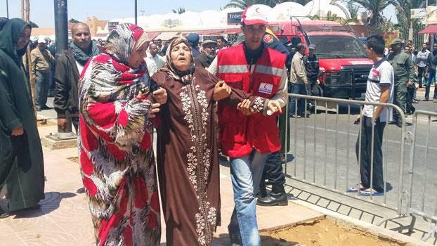 حزن وأسى وأجواء مهيبة في تشييع جنازة ضحايا فاجعة طانطان