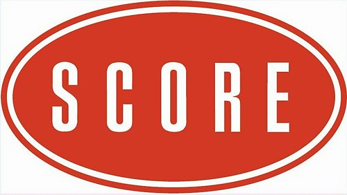 "Graphic saying ""score""."
