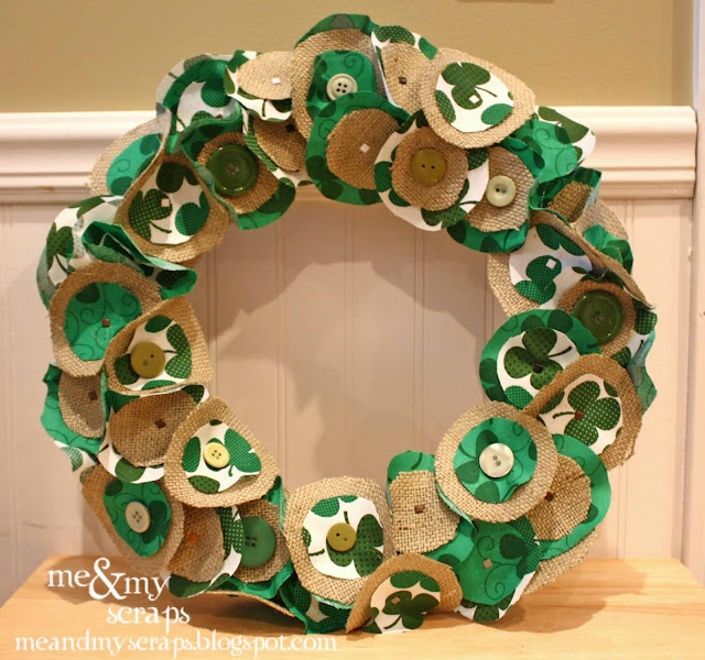 Crafter on a budget st patrick 39 s day crafts and decor for Decoration saint patrick