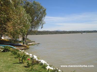 View of Lake Pátzcuaro from Jantizio