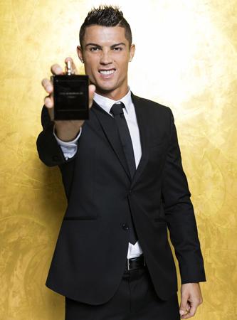 Cristiano Ronaldo fragrância Legacy