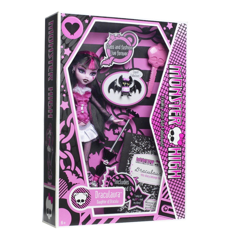 JUGUETES - MONSTER HIGH -   Draculaura | Muñeca | Diseño Original | Clásica Producto Oficial | Mattel | A partir de 6 años