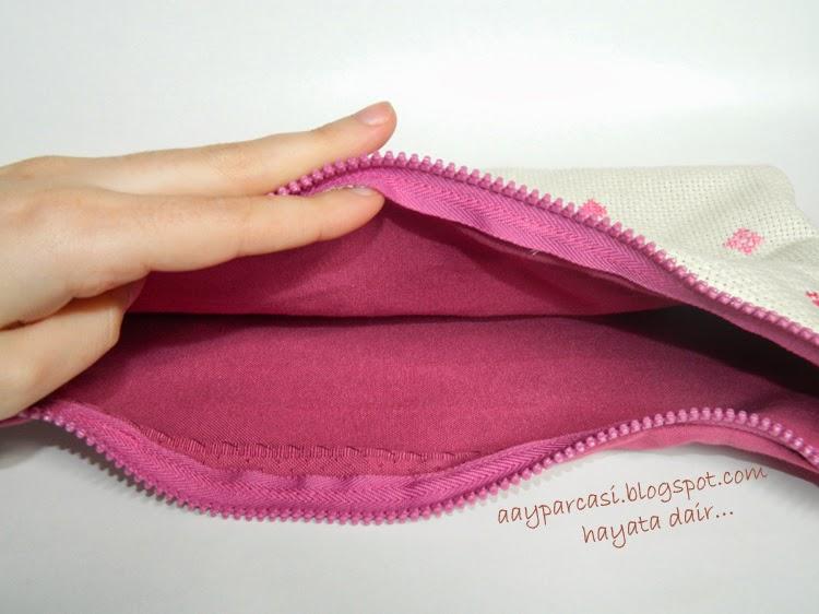 etamin makyaj çantası
