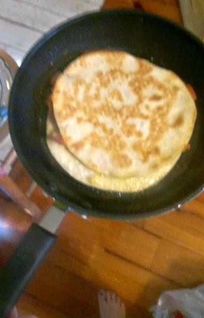 ozeri 8 inch pangreen earth pan quesedilla