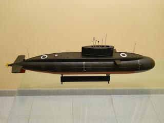 maqueta trumpeter del submarino ruso clase kilo