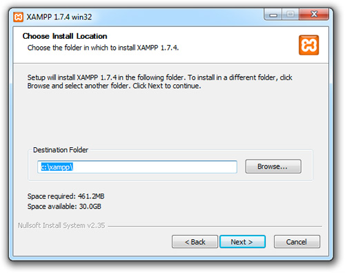 WEB 1.7.7 XAMPP TÉLÉCHARGER SERVER