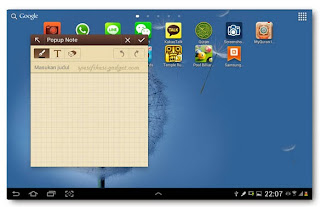 Samsung Galaxy Note 10.1 Mini apps