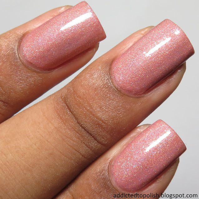 gracefull nail polish deeply in luxe