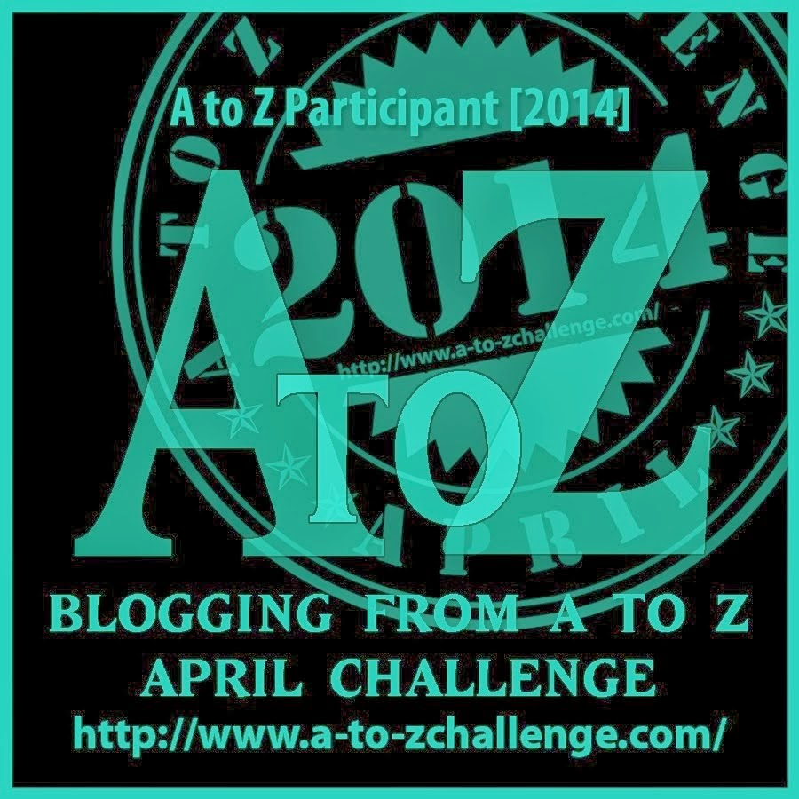 2014 A to Z April Blog Challenge
