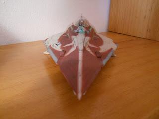 modelismo de ciencia-ficción : nave starfighter de jedi de star wars