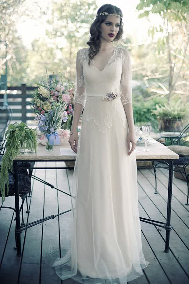 Eva Ovadia Modern Vintage Wedding Gowns | wedding trend 12