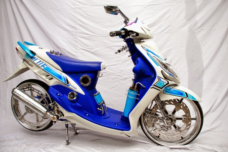 Hasil Modifikasi Motor Yamaha Mio