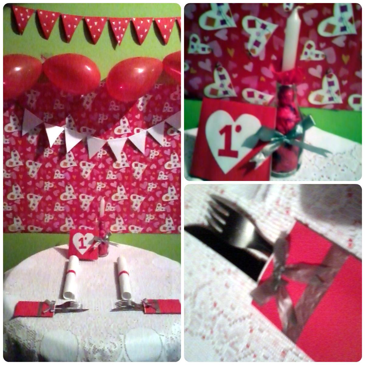 Peripécias Nossa festa de aniversário de namoro!