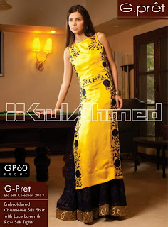 Gul Ahmed g pret Winter Collection 2013