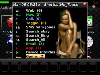 ShortcutMe v5.9.2 for BlackBerry