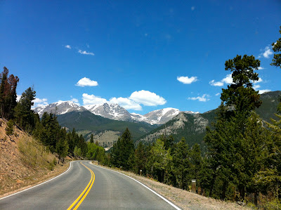 Highway 34 to Estes Park, Colorado #Colorado #ColorfulColorado www.thebrighterwriter.blogspot.com