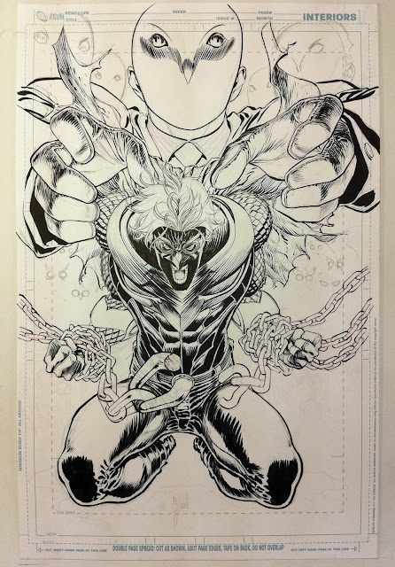 Making of a cover: TALON #1 by Guillem March