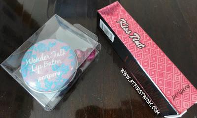 Peripera Wonder Talk Lip Balm and Kiss Tint packaging