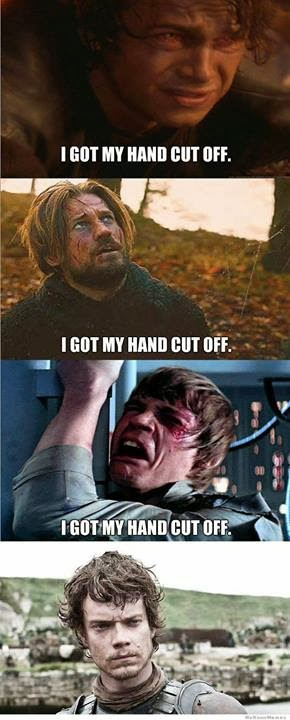 poor theon greyjoy game of thrones memes