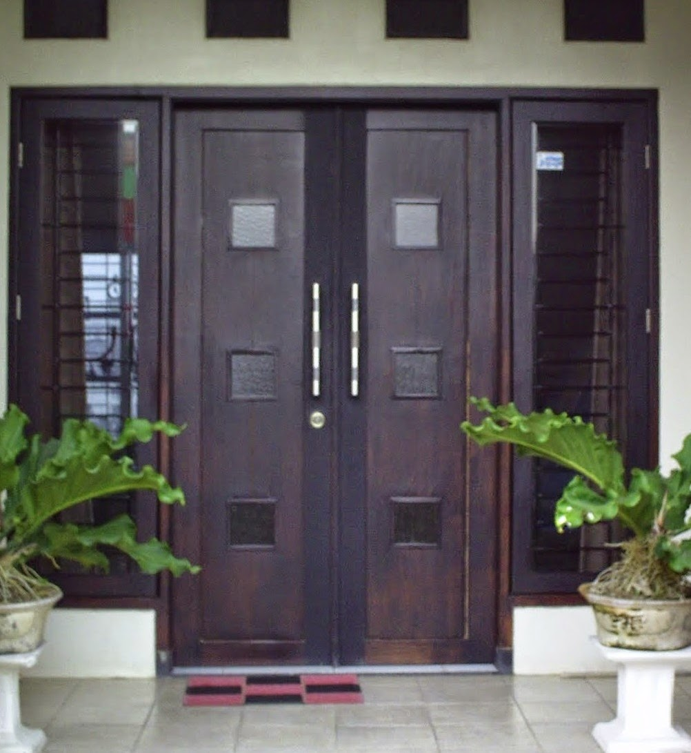 koleksi model gambar dan foto pintu rumah minimalis modern