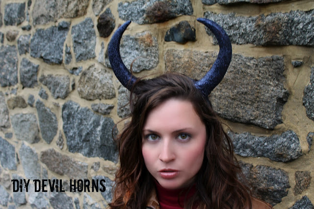 DIY Devil Horns