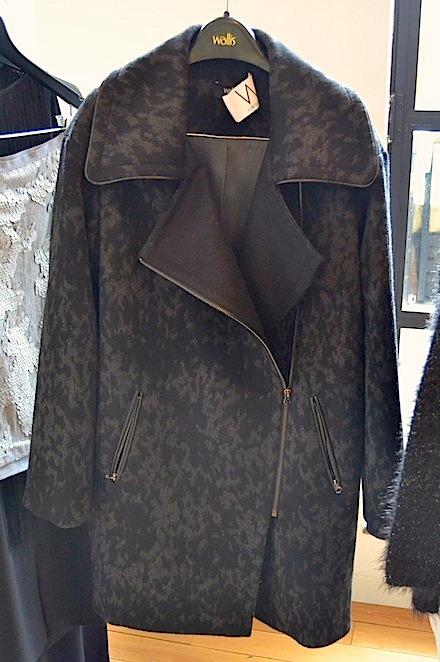 Wallis moto coat