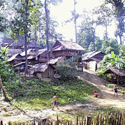 Lahu Village close to the boder of Myanmar