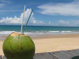 El agua de coco, con su extraordinario sabor, también sirve para refrescar y rehidratar