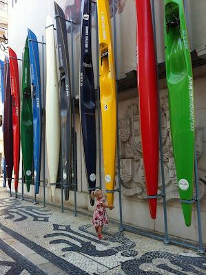 Mye fint å oppdage i Lisboas gater