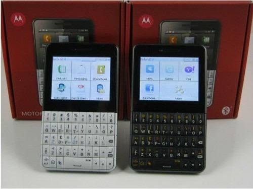 Celular Desbloqueado Claro Motorola EX119 Motokey