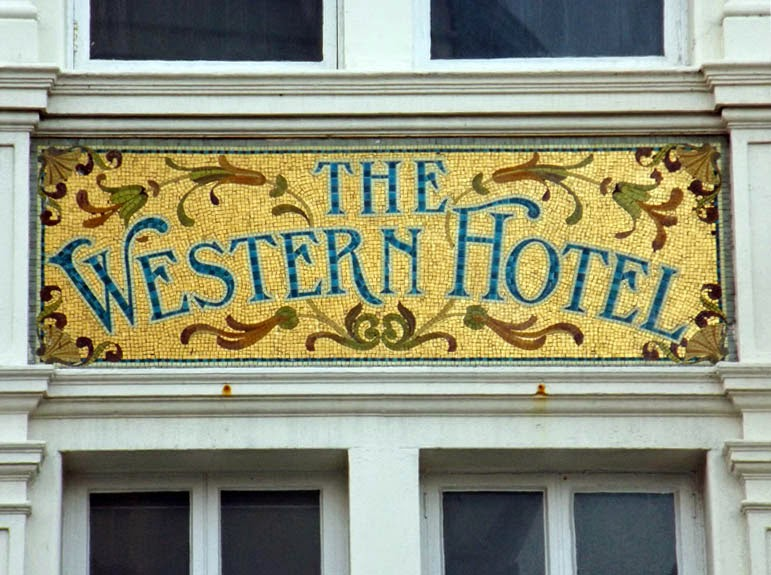 old western hotel mosaic brighton paris house