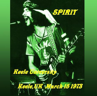 Spirit - Keele University - Keele - UK - March 15Th 1973