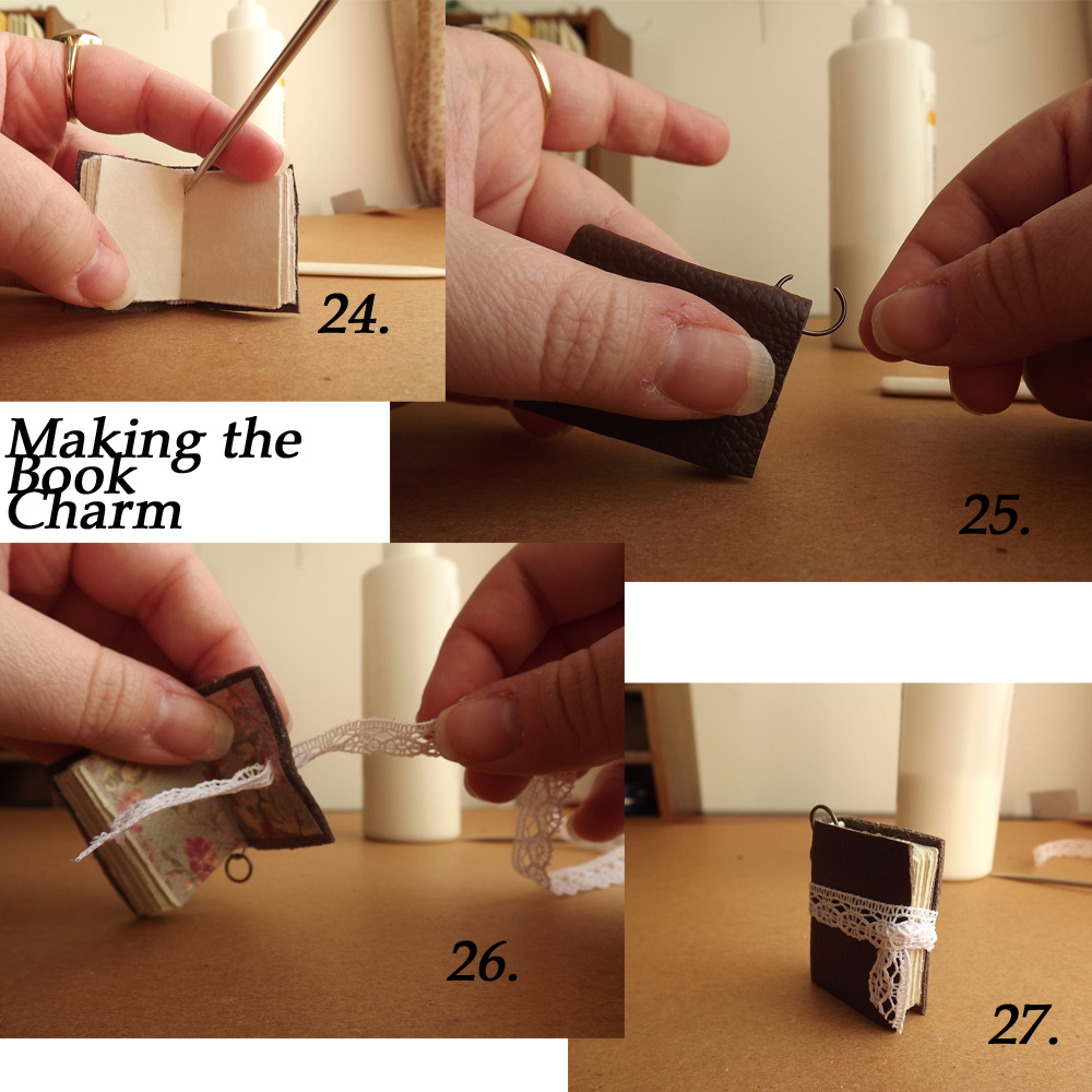 Making the Book Charm