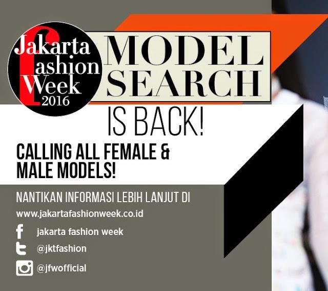 Audisi Model Jakarta Fahion Week 2016