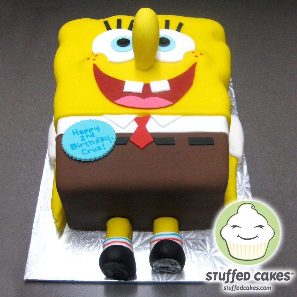 Stuffed Cakes Spongebob NotSquareCake