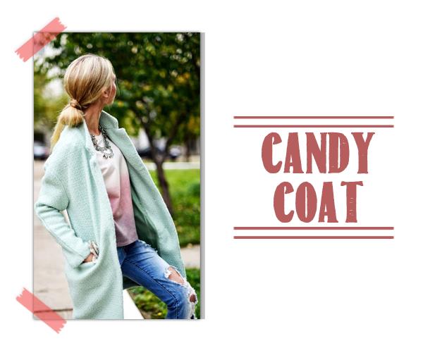Candy Coat abrigo pastel