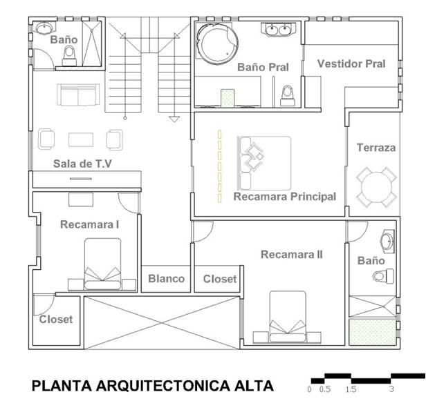Hacer Un Baño En Planta Alta:En planta alta cuenta con: