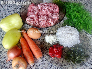 Ciorba de perisoare ingrediente reteta